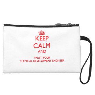 Guarde la calma y confíe en su desarrollo químico