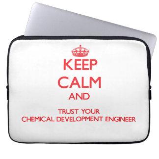 Guarde la calma y confíe en su desarrollo químico mangas portátiles