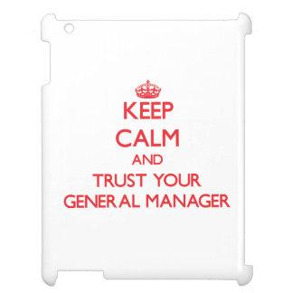 Guarde la calma y confíe en su director general
