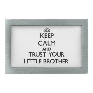 Guarde la calma y confíe en su pequeño Brother