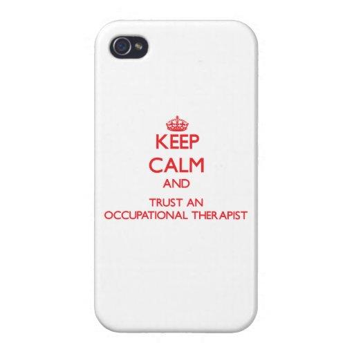 Guarde la calma y confíe en un anrapist profesiona iPhone 4/4S carcasas