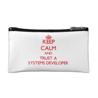 Guarde la calma y confíe en un desarrollador de lo