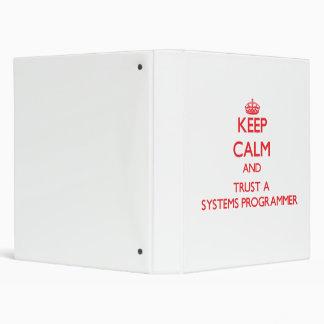 Guarde la calma y confíe en un programador
