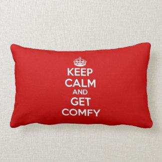 Guarde la calma y consiga cómodo cojín