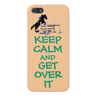 Guarde la calma y consiga sobre ella iPhone 5 protectores
