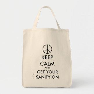Guarde la calma y consiga su CORDURA en la bolsa d