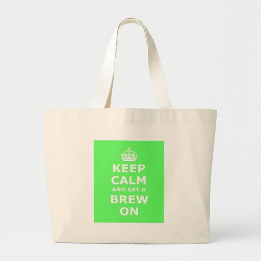 Guarde la calma y consiga un Brew encendido, Bolsa
