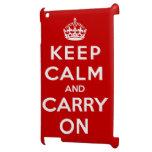 Guarde la calma y continúe