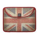 Guarde la calma y continúe con la bandera BRITÁNIC Funda Para Macbook Pro