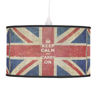 Guarde la calma y continúe con la lámpara BRITÁNIC