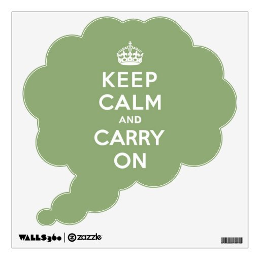 Guarde la calma y continúe con un Eco BG verde