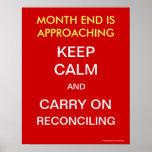 Guarde la calma y continúe el reconciliar - poster