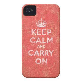 Guarde la calma y continúe iPhone 4 cobertura