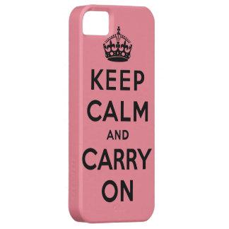 guarde la calma y continúe la original iPhone 5 protectores