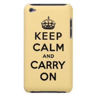 guarde la calma y continúe la original iPod touch Case-Mate protectores