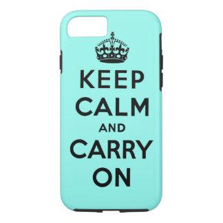 guarde la calma y continúe la original funda iPhone 7
