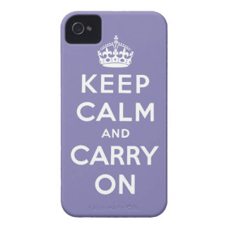 guarde la calma y continúe la original iPhone 4 carcasas
