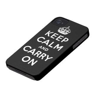 guarde la calma y continúe la original iPhone 4 cobertura