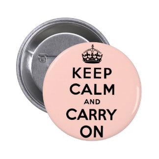 guarde la calma y continúe la original pin