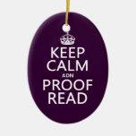 """Guarde la calma """"y"""" corregido (el ADN) (en cualqui Ornamentos Para Reyes Magos"""