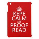Guarde la calma y corríjala (el kepe) (en cualquie iPad mini funda