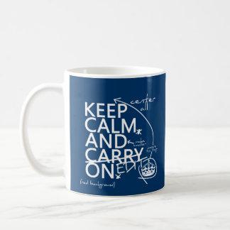 Guarde la calma y corríjala en (en cualquier taza