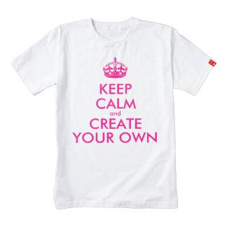 Guarde la calma y cree sus los propios - rosa