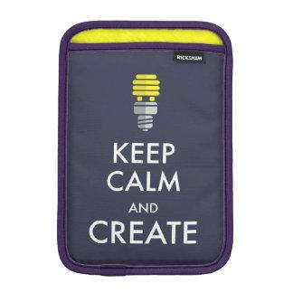 Guarde la calma y créela funda para iPad mini