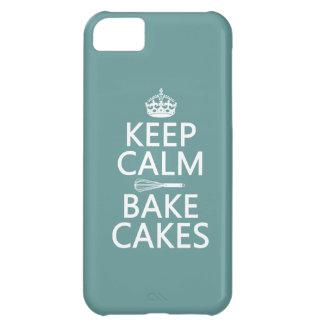 Guarde la calma y cueza las tortas (el color del p