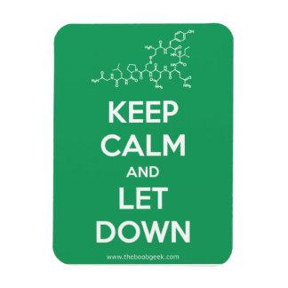 Guarde la calma y deje abajo el imán