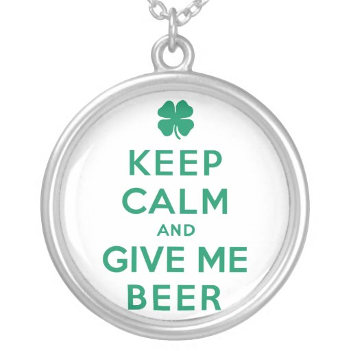 Guarde la calma y déme la cerveza pendiente