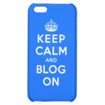 Guarde la calma y el blog encendido