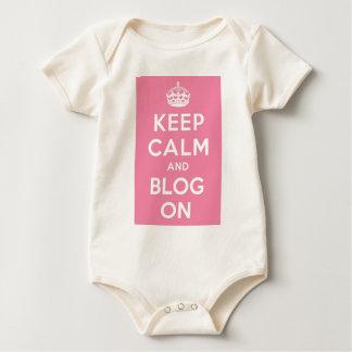 Guarde la calma y el blog encendido mameluco