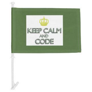 Guarde la calma y el código