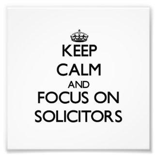 Guarde la calma y el foco en abogados fotos