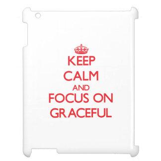 Guarde la calma y el foco en agraciado