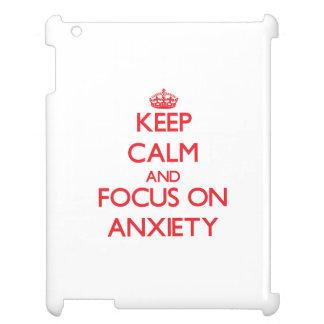 Guarde la calma y el foco en ANSIEDAD