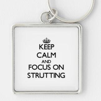 Guarde la calma y el foco en apuntalar