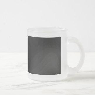 Guarde la calma y el foco en argot taza de cristal