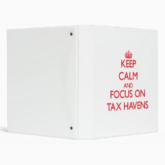 Guarde la calma y el foco en asilos de impuesto