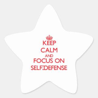 Guarde la calma y el foco en autodefensa