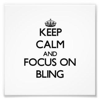 Guarde la calma y el foco en Bling Fotografias