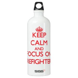 Guarde la calma y el foco en bomberos