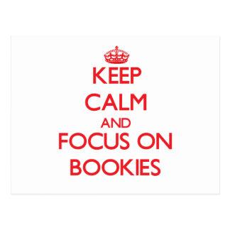 Guarde la calma y el foco en Bookies Postales