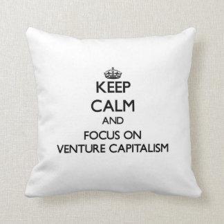 Guarde la calma y el foco en capitalismo de empres