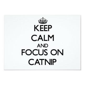 Guarde la calma y el foco en Catnip Comunicados