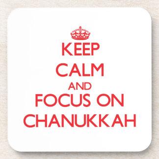 Guarde la calma y el foco en Chanukkah