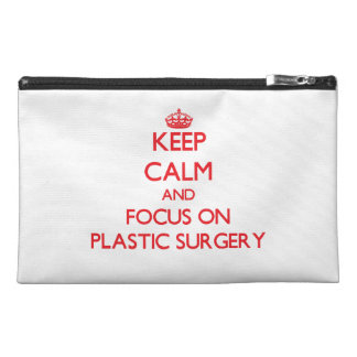 Guarde la calma y el foco en cirugía plástica