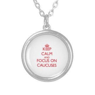 Guarde la calma y el foco en comités joyeria personalizada