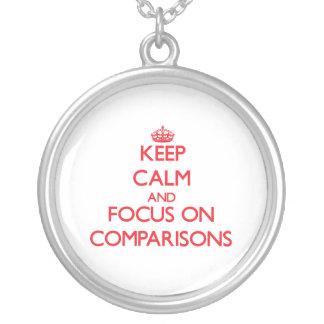 Guarde la calma y el foco en comparaciones joyerias personalizadas